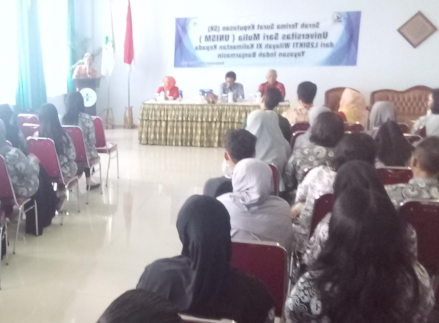 Sambutan Kepala LLDIKTI XI-Prof. Dr. Ir. H. Udiansyah, M.S