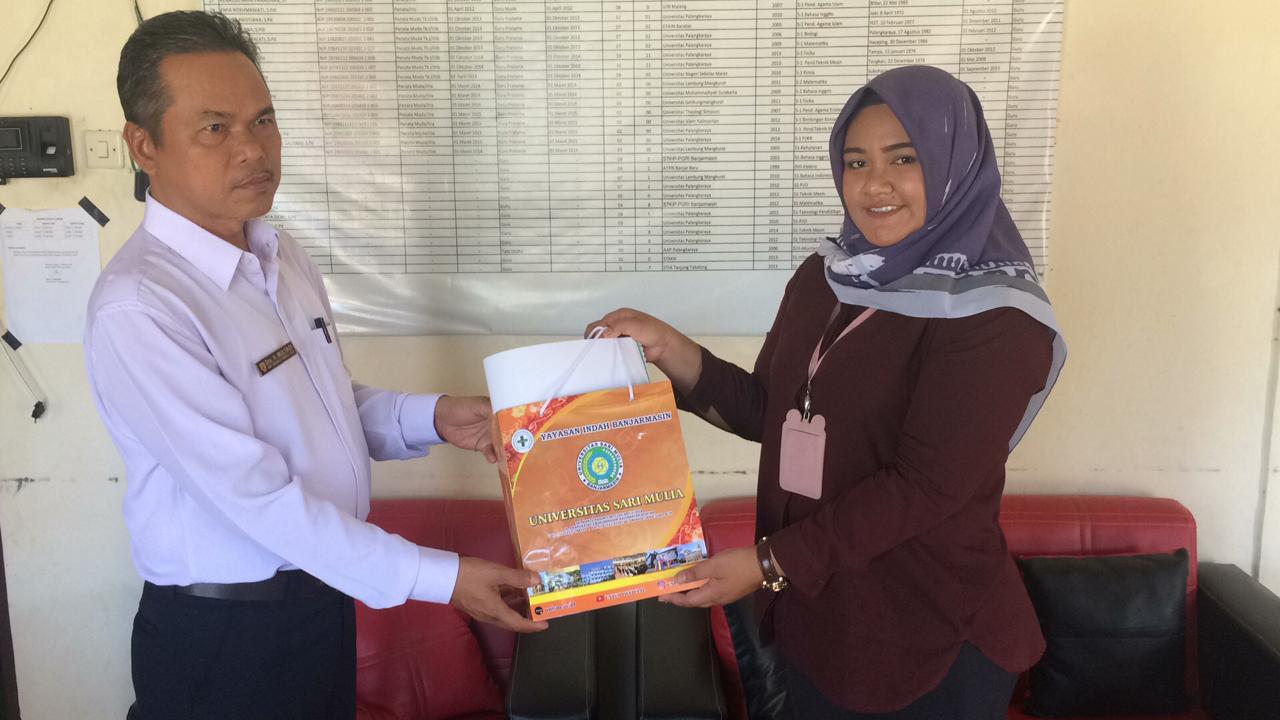 Tim Promosi Sipenmaru UNISM Kunjungi SMA dan SMK Kapuas