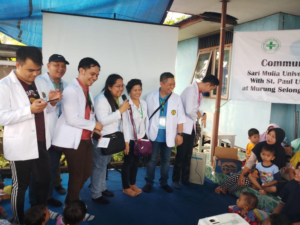 UNISM Kerjasama St. Paul University Manila Laksanakan Pengabdian Masyarakat
