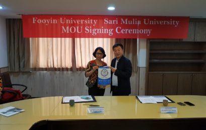Universitas Sari Mulia Jalin Kerjasama Dengan Fooyin University Taiwan