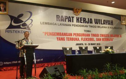 UNISM Ikuti Rapat Kerja Wilayah LLDIKTI XI Kalimantan
