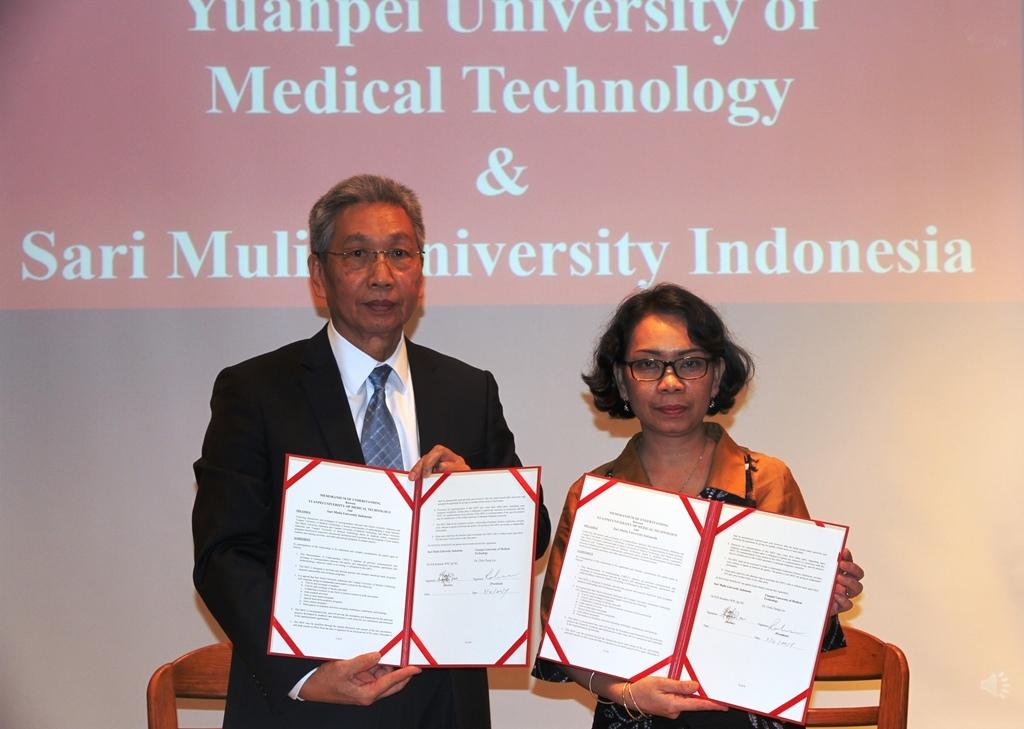 Universitas Sari Mulia Jalin Kerjasama Dengan Yuanpei University of Medical Technology