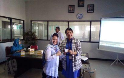 Sosialisasi BRI kepada Jajaran Yayasan Indah Banjarmasin