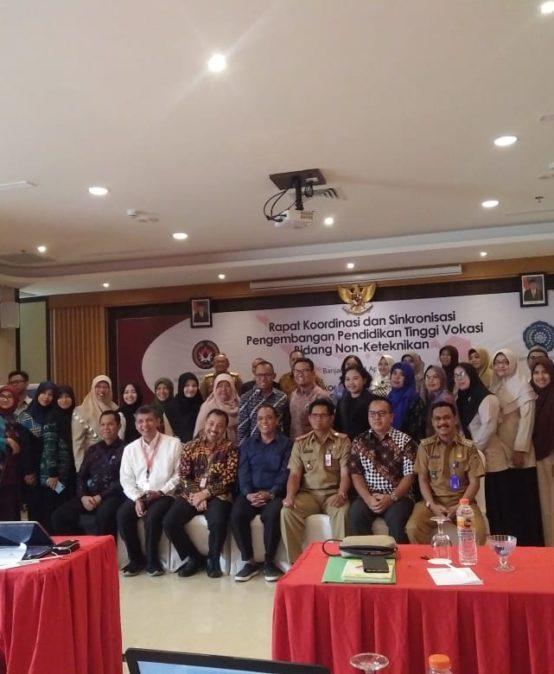 UNISM Ikuti Rapat Koordinasi Pendidikan Vokasi