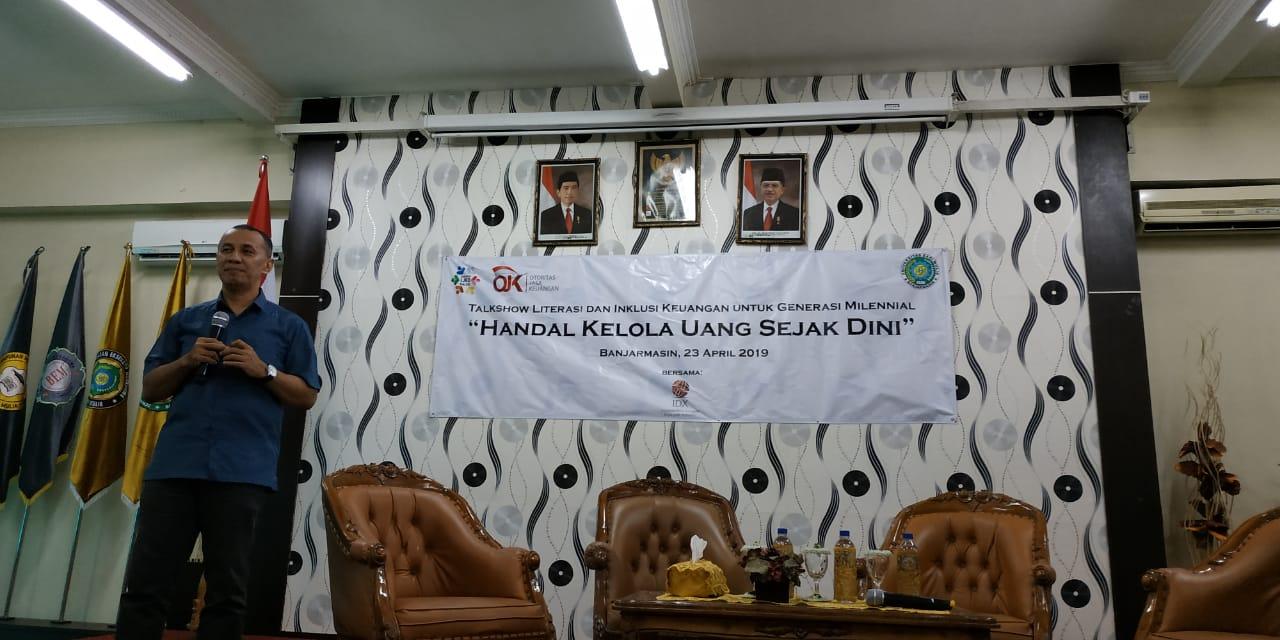 Wakil Rektor III UNISM Buka Acara Talk Show OJK dan Bursa Efek Indonesia