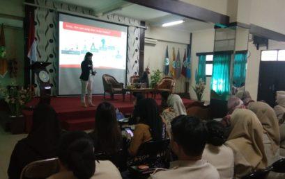 Talk Show literasi keuangan dari OJK dan Bursa Efek Indonesia