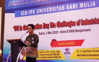 Sekretaris LLDIKTI XI Buka Semnas dan ICD-IPE