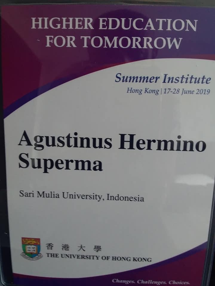 Wakil Rektor III UNISM Ikuti Higher Education For Tomorrow