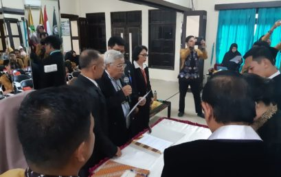 Pelantikan Pejabat Struktural di lingkungan UNISM