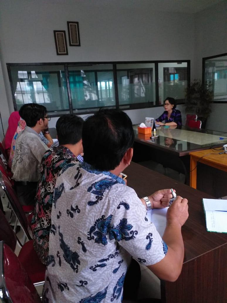 Rapat Koordinasi Rektorat UNISM dengan TIM ICT dan Smart Campus
