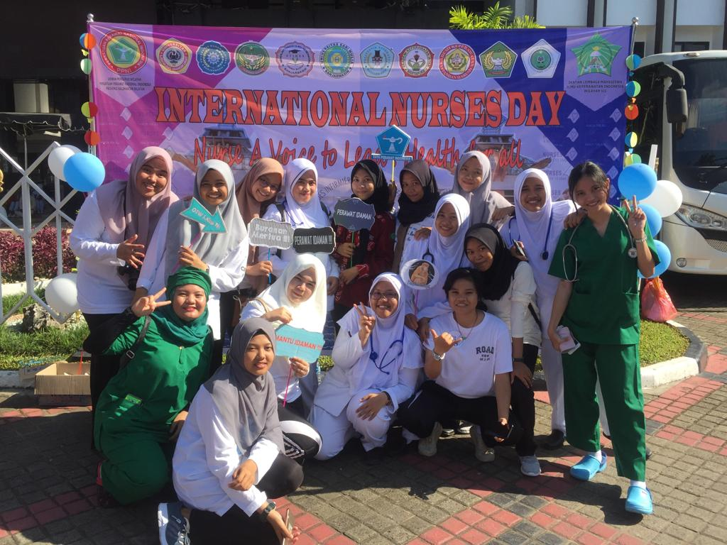 UNISM Ikuti International Nurses Day 2019