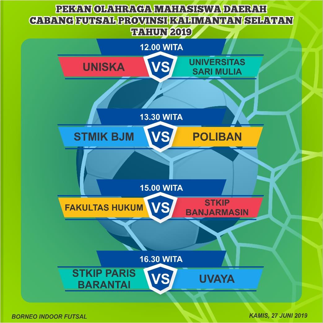 Tim Futsal UNISM tembus babak 8 Besar POMDA