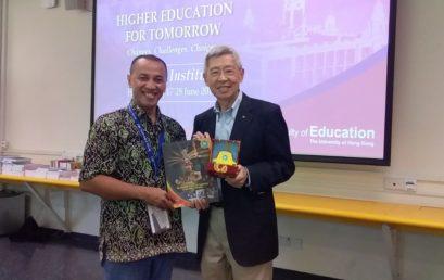 Presentasi ICD IPE IPC UNISM di Hong Kong University