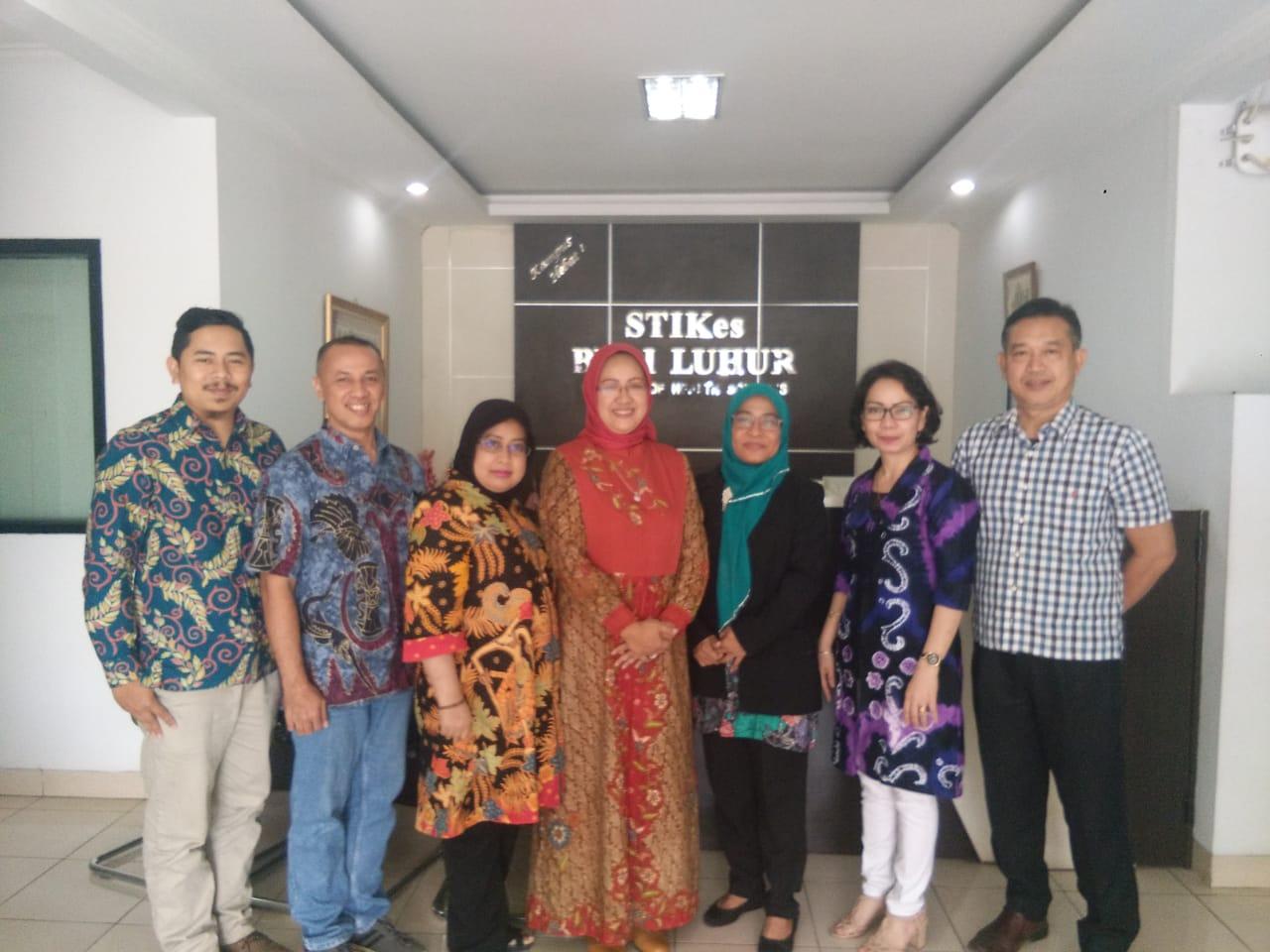 Tim Rektorat UNISM Berkunjung ke STIKES Budi Luhur