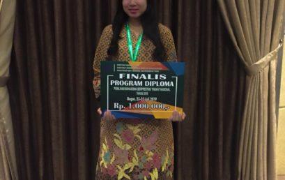Febby Siharina Finalis Mahasiswa Berprestasi