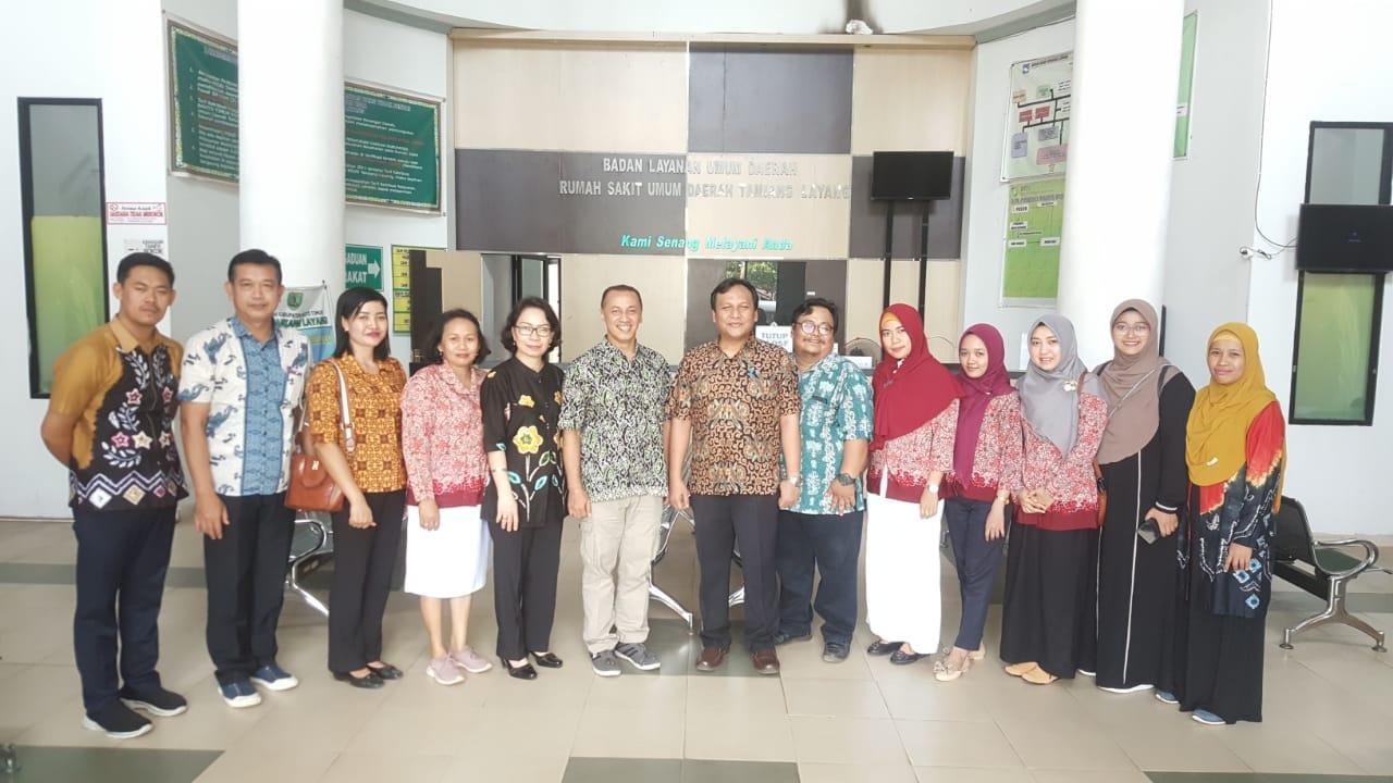 Tim Rektorat UNISM Kunjungi RS. Tamiang Layang
