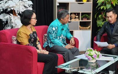 Talksshow Duta TV Hadirkan Wakil Rektor I UNISM