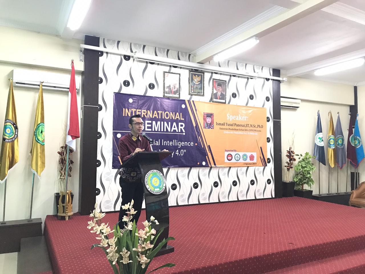 """International Seminar"""" Artificial Intelligence On Industri 4.0″"""