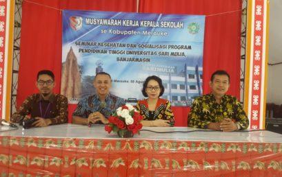 Sosialisasi Program pendidikan di Papua
