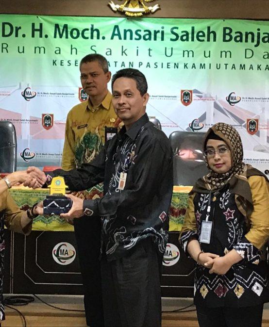 Sosialisasi di RS Dr.H.Moch.Ansari Saleh Banjarmasin