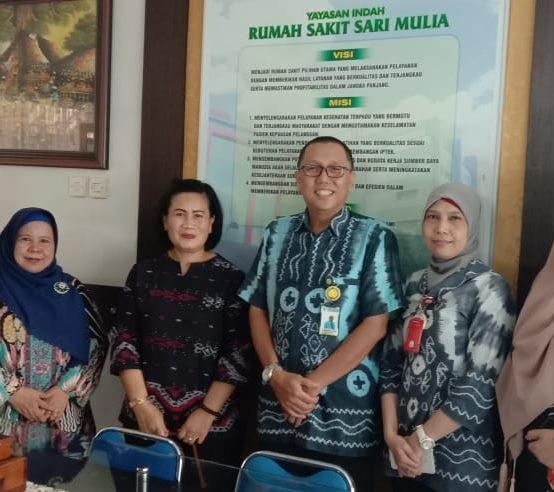 Tim BNP2TKI bersama tim RS.Sari Mulia
