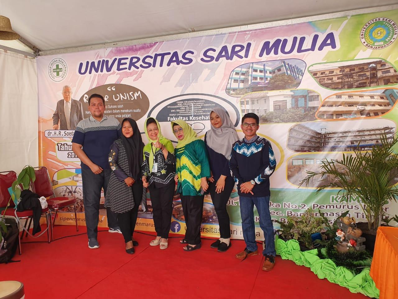 Pembina Yayasan Indah Banjarmasin Kunjungi EXPO UNISM