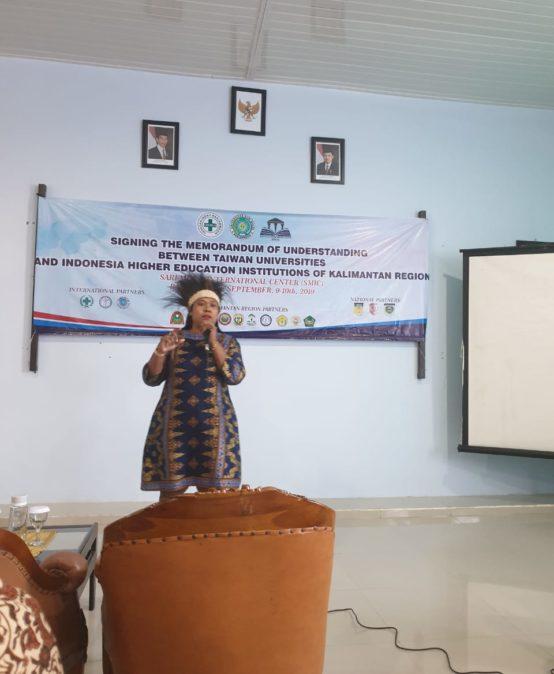 Presentasi Perwakilan Pemda (Merauke, Papua) di UNISM