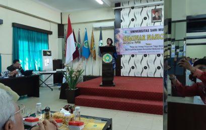 Sambutan Ketua Pelaksana Seminar Nasional 2019- UNISM