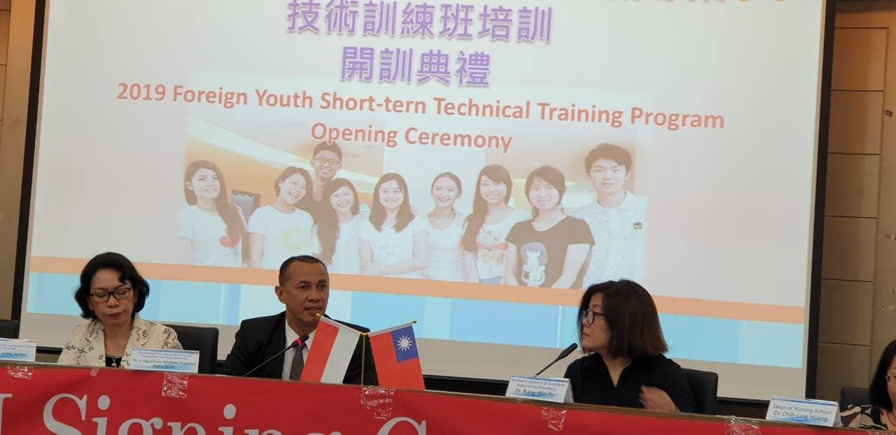 Delegasi UNISM di  Universitas Fooyin, Khoisoung, Taiwan