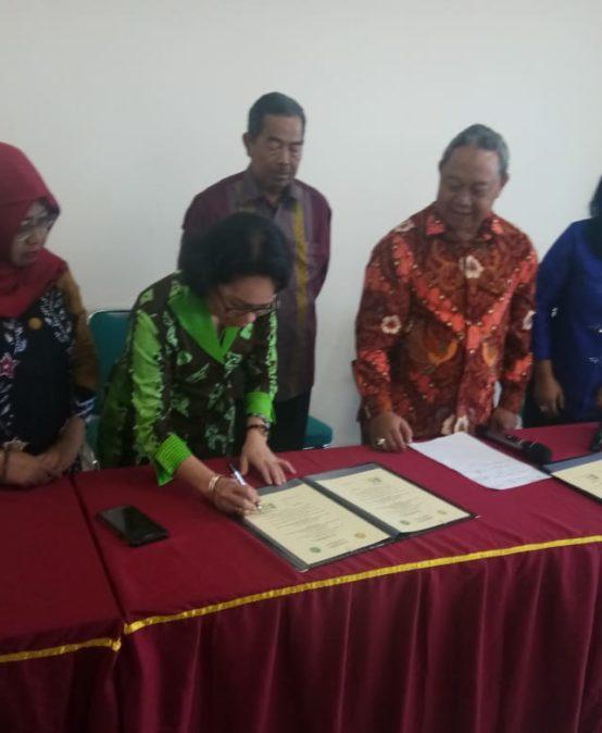 UNISM-MOU dengan Univ.Pamulang dan Lembaga Beasiswa Jepang-Australia