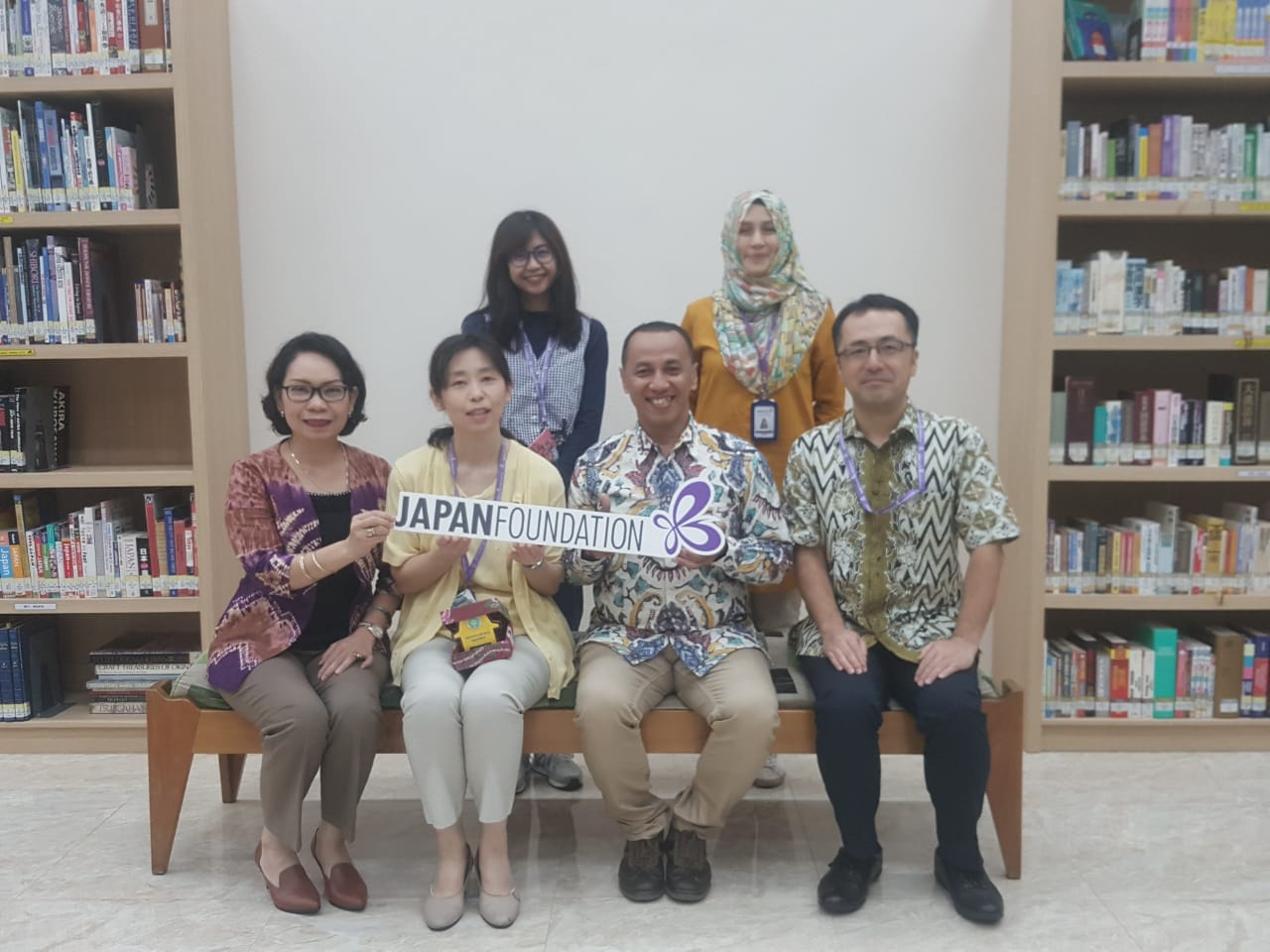 UNISM Jalin Kerjasama dengan Japan Foundation