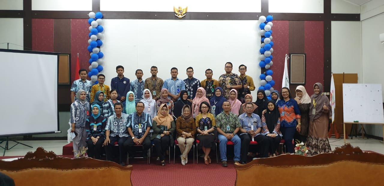 Rapat Tim ICD bersama jajaran pejabat RS Sari Mulia