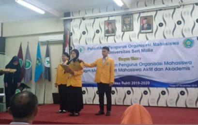 PelantikanPengurus Ormawa UNISM 2019/2020
