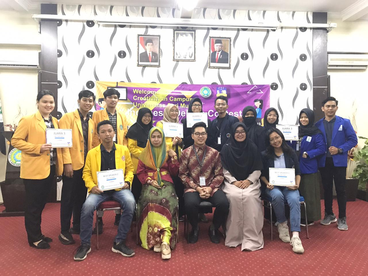 Lomba Debat Bahasa Indonesia CIC 2019