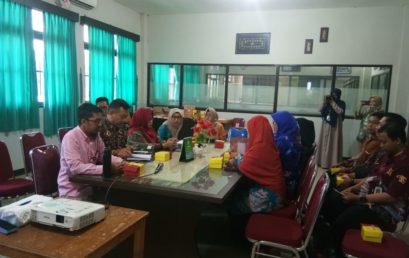 UNISM Menerima Kunjungan Dari Dekan Tarbiah IAIN Palangkaraya