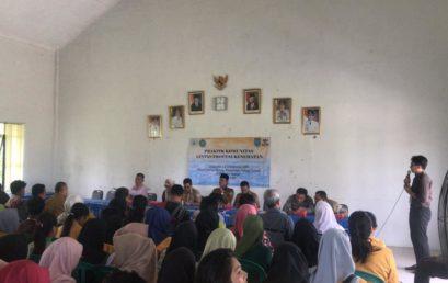 Praktik Komunitas Lintas Profesi Kesehatan