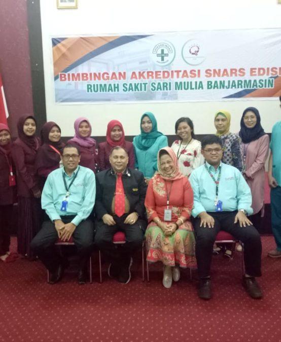 Dukungan UNISM dalam Akreditasi SNARS Edisi 1.1 Rumah Sakit Sari Mulia Banjarmasin
