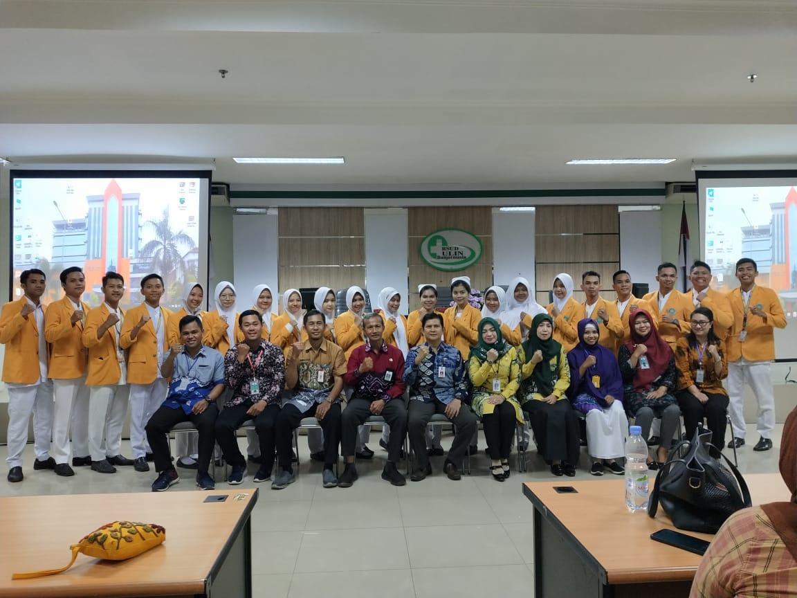 Serah Terima Mahasiswa Praktik Klinik Keperawatan UNISM di RSUD Ulin Banjarmasin