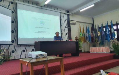 Kegiatan Workshop Sosialisasi Akreditasi 9 Kriteria BAN-PT