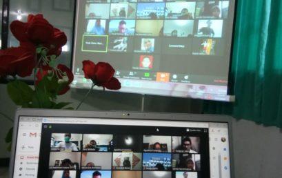 UNISM Melaksanakan Meeting secara Daring