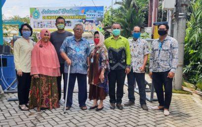 """Inovasi UNISM, """"Gate Sanitizer"""" untuk Warga Banua"""