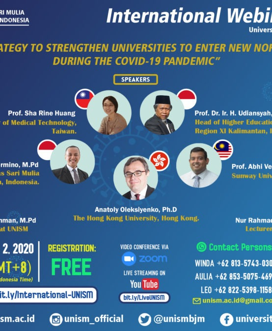 Materi Webinar Internasional Universitas Sari Mulia 2020
