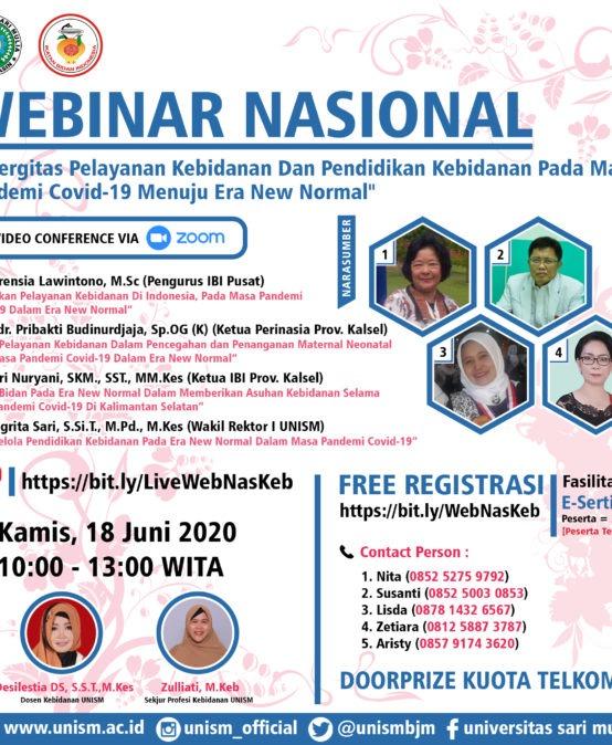 Materi Webinar Nasional Kebidanan UNISM 2020
