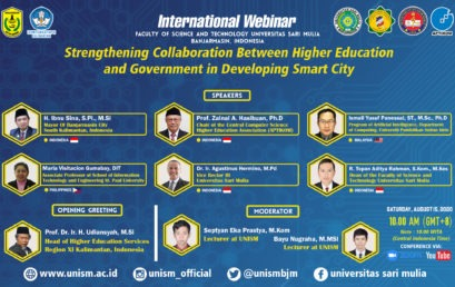 "Materials ""INTERNATIONAL WEBINAR 2020 ""STRENGTHENING COLLABORATION BETWEEN HIGHER EDUCATION AND GOVERNMENT IN DEVELOPING SMART CITY"""