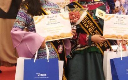 Universitas Sari Mulia meraih 2 penghargaan dalam ajang apresiasi Pemilihan Duta Genre Provinsi Kalimantan Selatan tahun 2020
