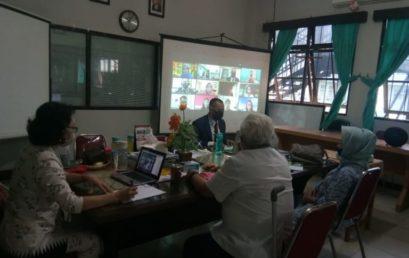 Universitas Sari Mulia Banjarmasin Melakukan Pertemuan Online Dengan Japan Foundation