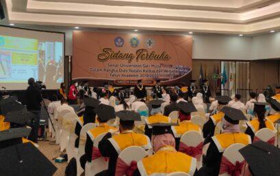 Dies Natalis ke-2 dan Wisuda Universitas Sari Mulia 2020