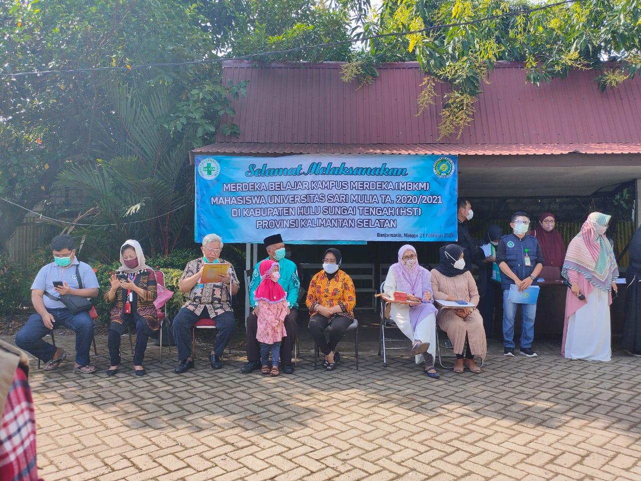 Keberangkatan Mahasiswa dan Dosen ke Kab. HST untuk implementasi MBKM