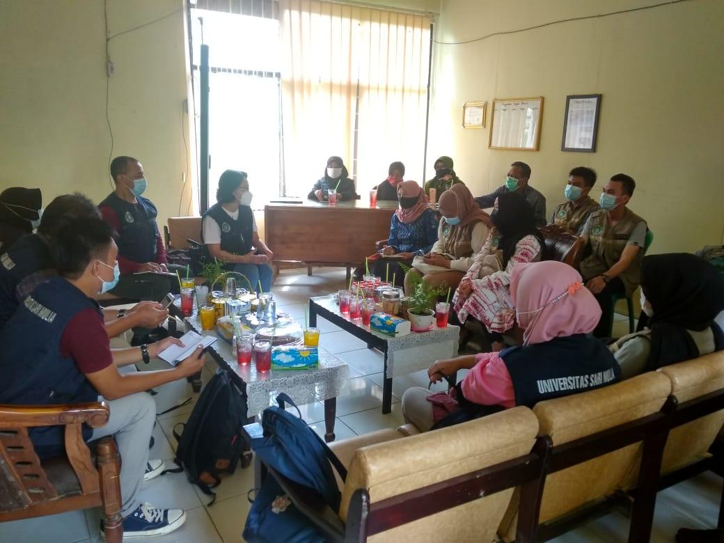 Serah Terima Mahasiswa UNISM Untuk Praktek Kerja/Magang di beberapa Instansi di Kab.HST