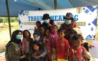 """""""Trauma Healing"""" Merupakan Salah Satu Proyek dari MBKM UNISM di Kab.HST"""